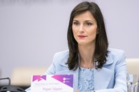 The writer, Ms Mariya Gabriel, the European Commissioner for Digital Economy and Society. (European Commission, 2018)